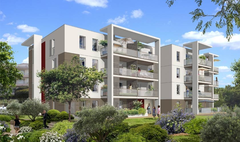 Prix eden green cagnes appartements neufs for Prix appartement neuf